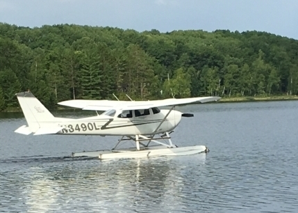 Water Lover? - Our Float plane on Amphibious Floats is always a favorite for a discovery flight.  Learning to fly on floats is a blast.  Take the next step and call or stop by.