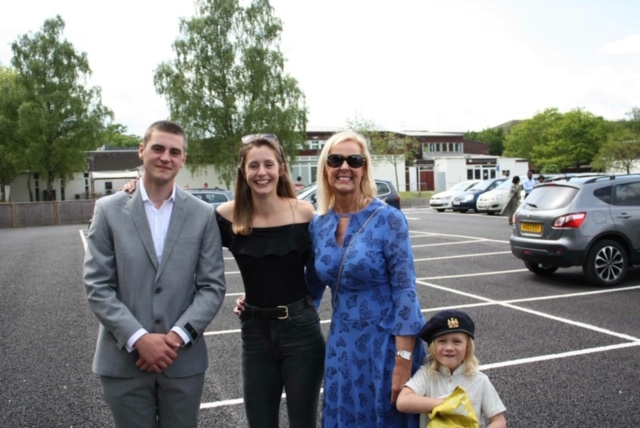 Kurtis, Maricarmen, Me and Jesse at his Passing out parade