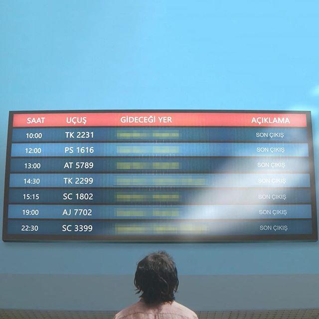 Tek bir çıkış hakkınız olsa nereye gitmek isterdiniz? 🤔 Gitmek istediğiniz yeri yazın, son çıkış hakkını kullanacak şanslı kişi siz olun, yurt içi tek yön uçak biletini biz alalım. ✈️ Yorumlarınızı bekliyoruz. 😉 #SonÇıkış 2 Kasım'da sinemalarda. #Film #İstanbul #Metropol