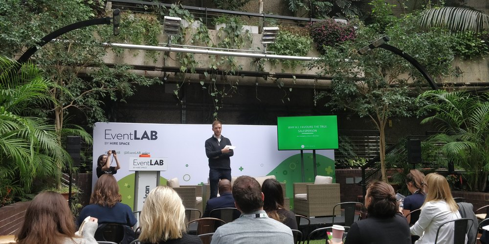 Why A.I. Favours the True Salesperson  - Will Swannell at EventLAB 2018