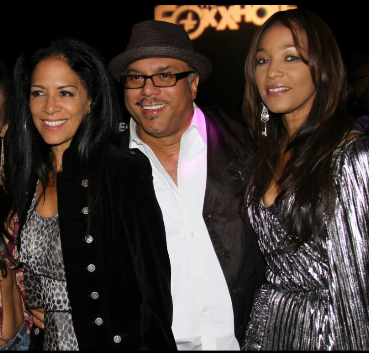 """""""A Night to Remember"""" Tiffany with her Uncle Howard Hewett and percussionist extraordinaire Sheila E."""