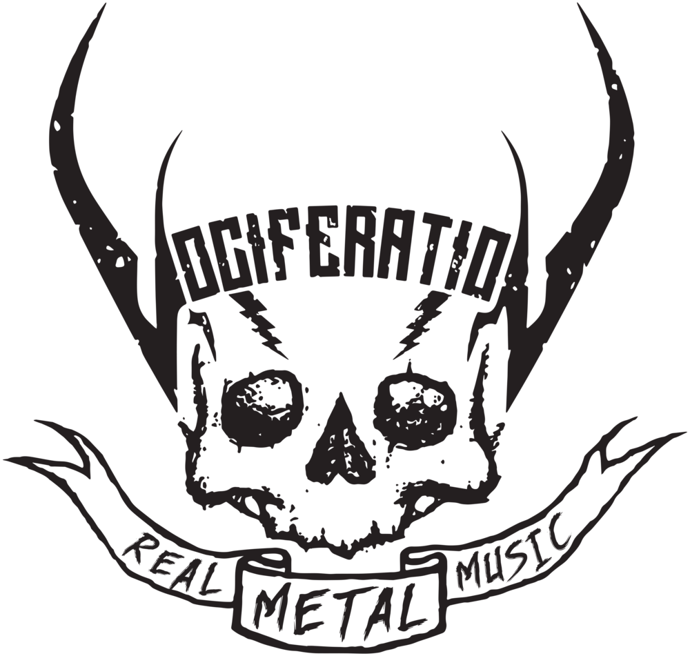 vociferation REAL METAL MUSIC skull logo.png