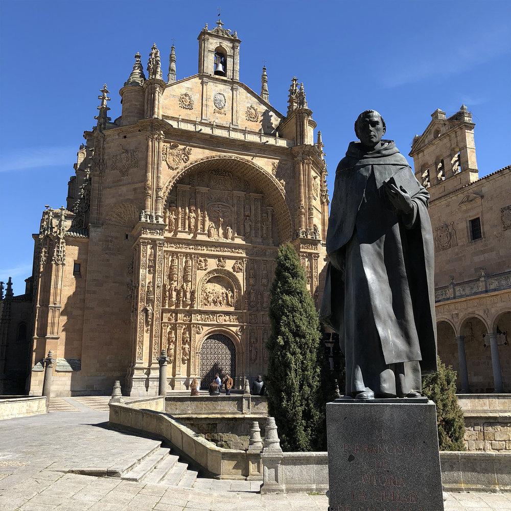 Convento de San Esteban.