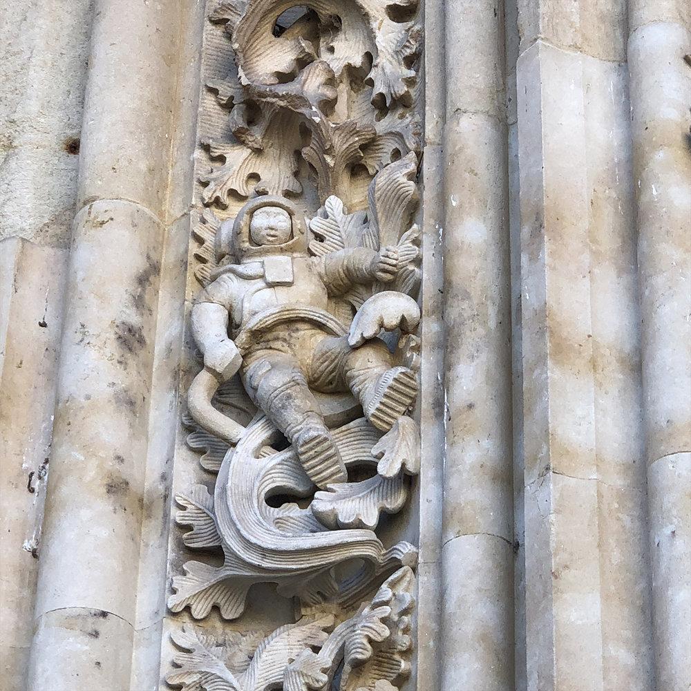 Astronauta de la catedral.
