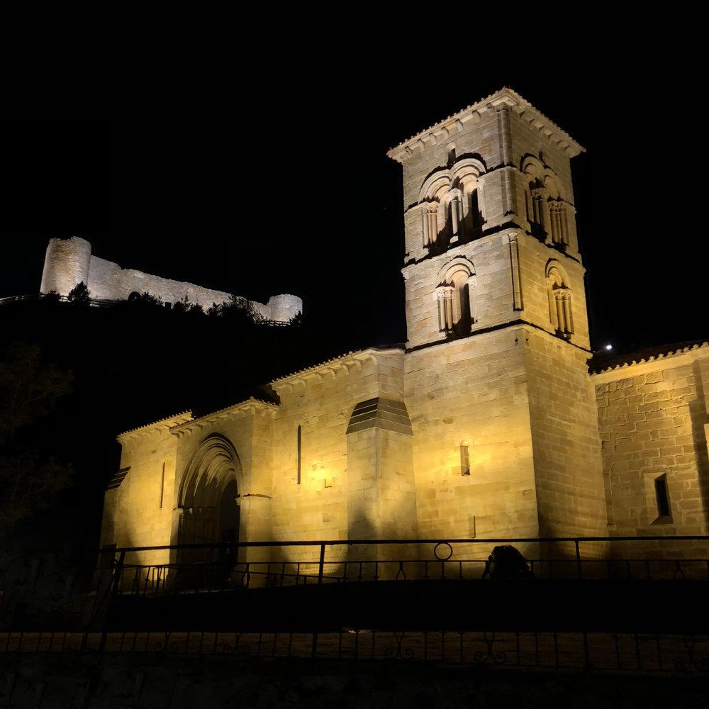 Santa Cecilia, en Aguilar de Campoo.