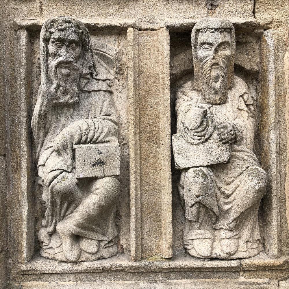 Detalle de la Catedral de Santiago.