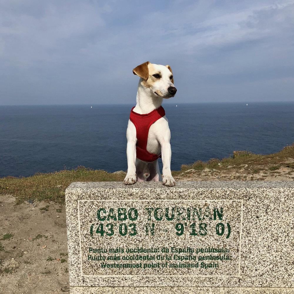 En punto más occidental de la España peninsular.