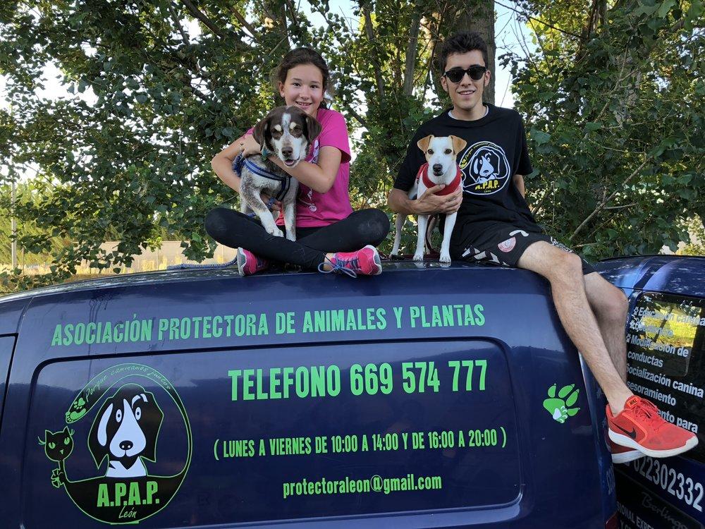 """Con Rocío, Pablo y """"Tura""""."""