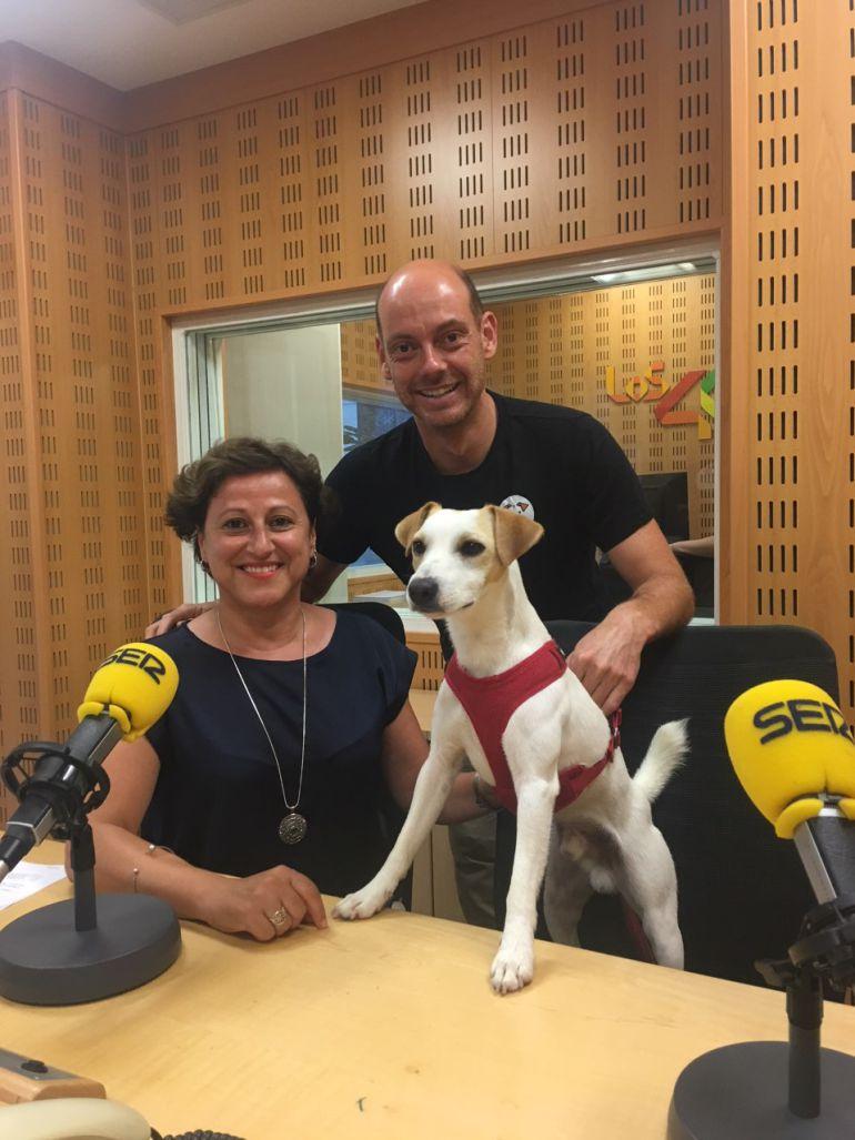 Con Marialui y Pablo en Radio San Sebastián.