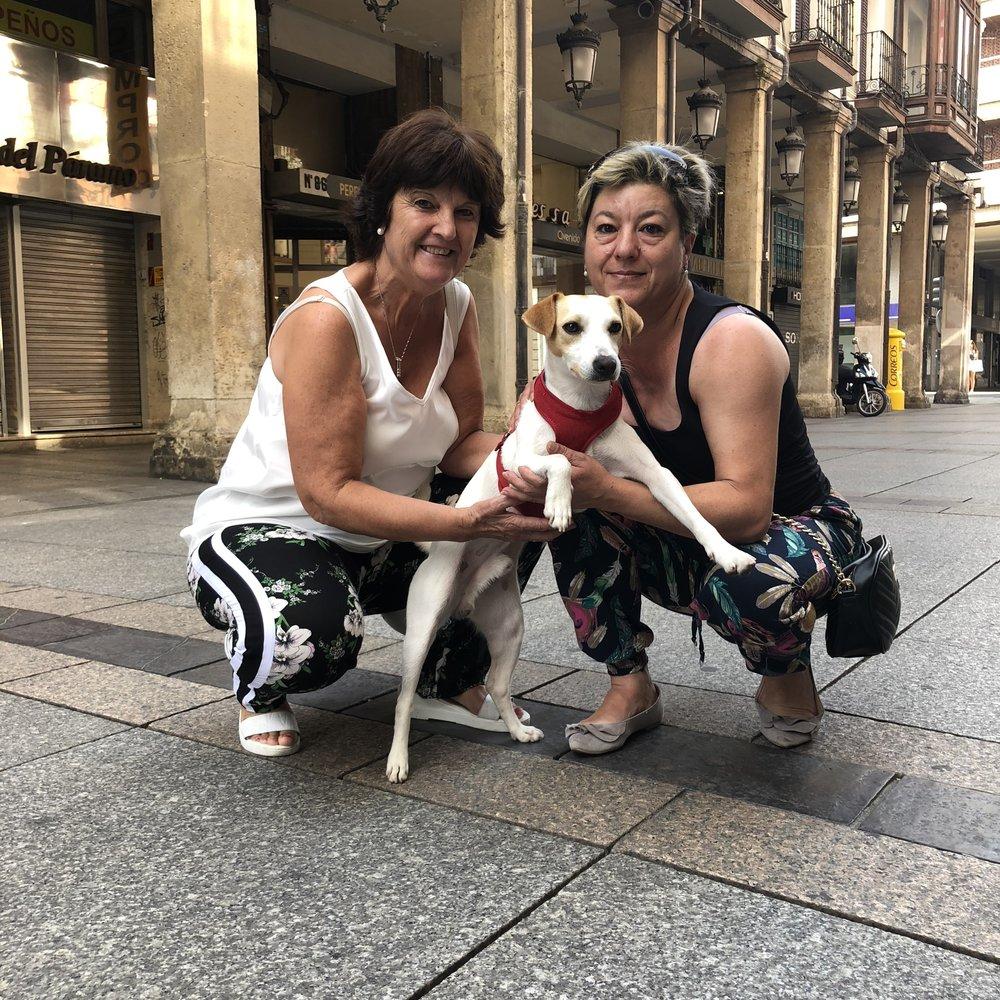 Con Yoli y Emi.