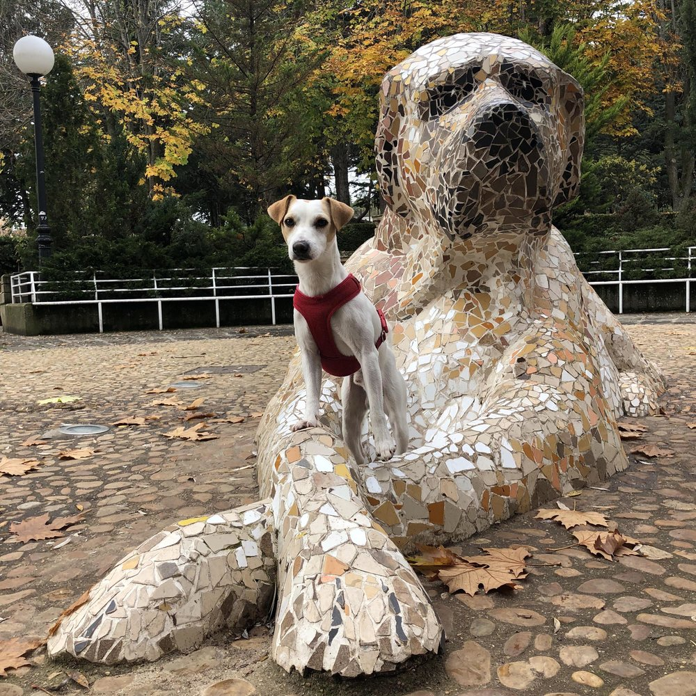 Monumento a los pastores trashumantes, en Soria.