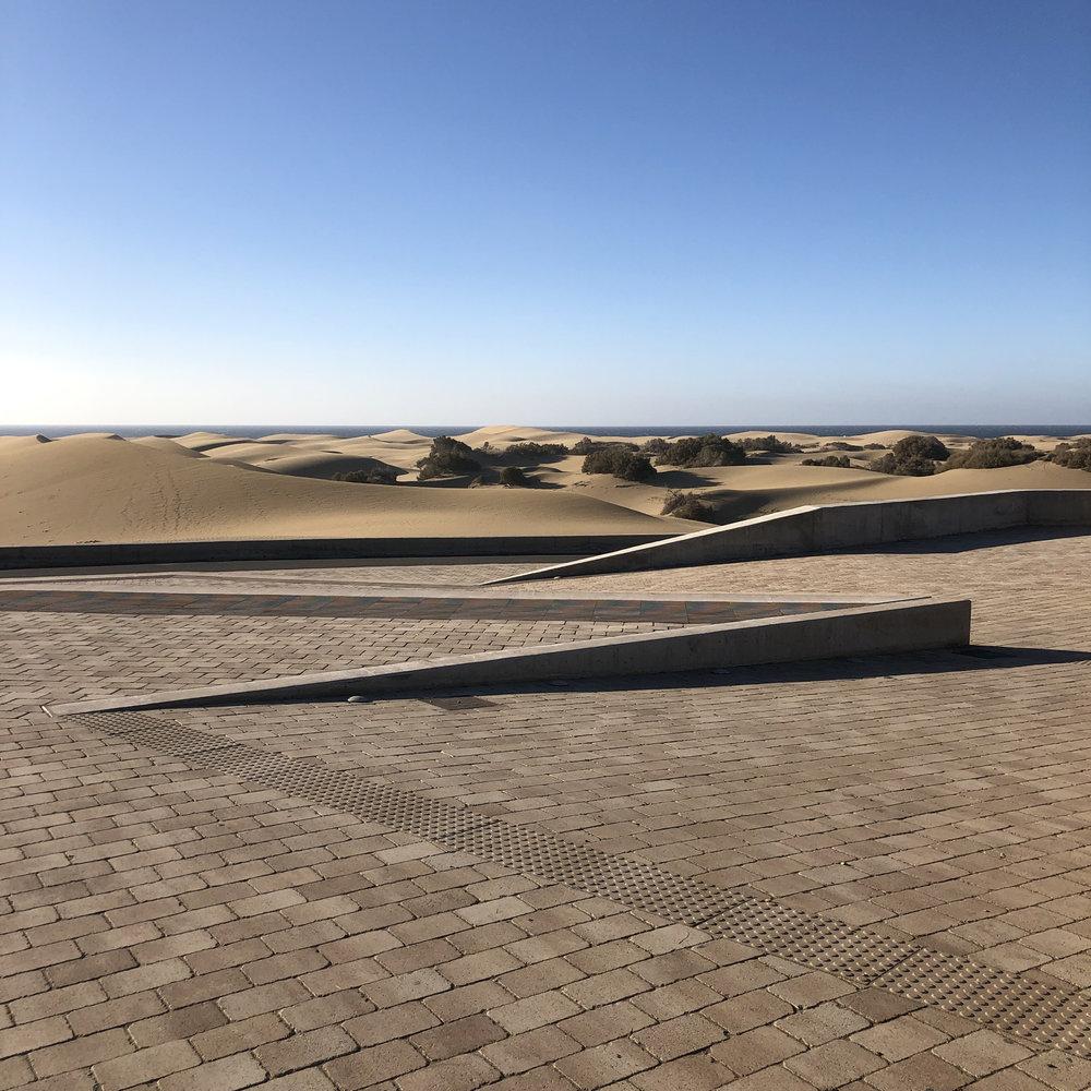 Mirador de las dunas de Maspalomas.