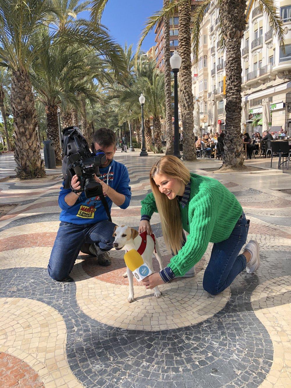 Con Rosa y Ximo, de À Punt TV.