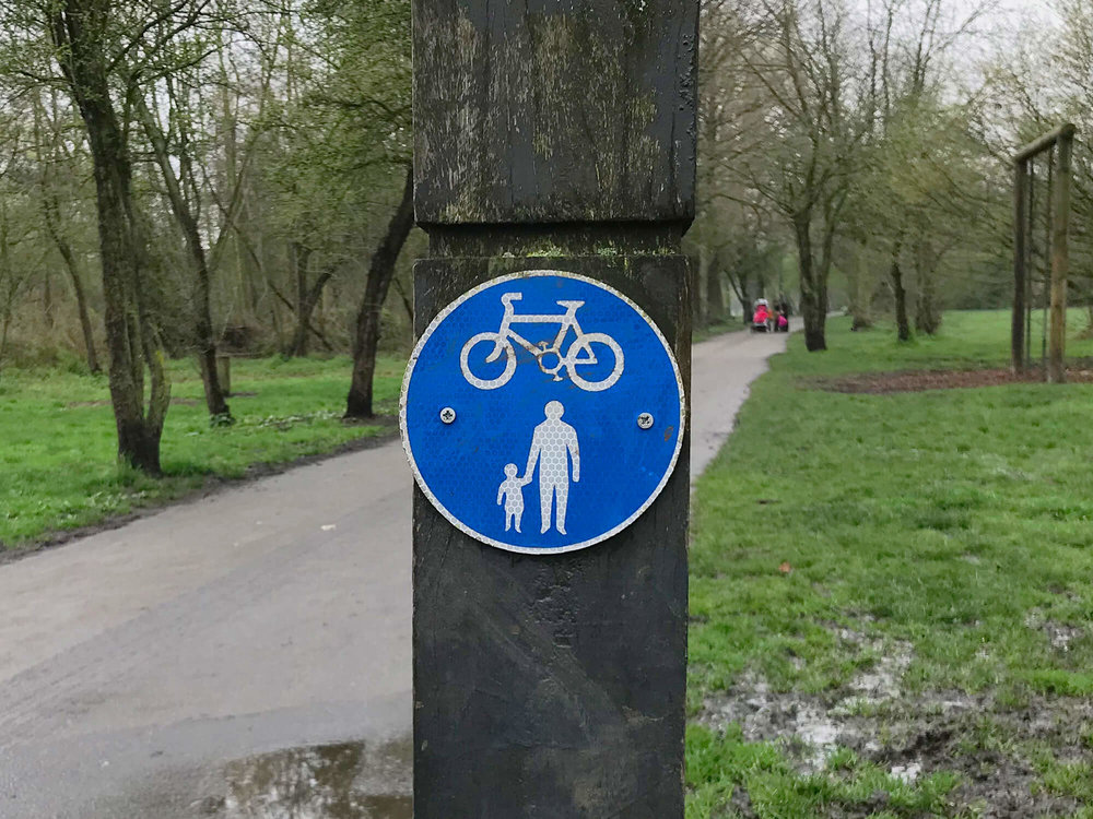 Shared use path