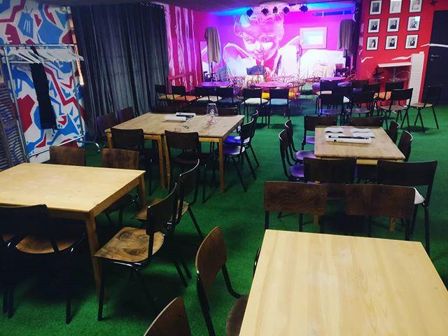 New chairs have arrived - 90 seats - #villarsvanguard #villars #villarsbig #chablais #suisseromande #jazzclub #jazz #live #blues #funk #soul #jamsession #lesmazotsduclos #villarsgryon #suisse #vvjo #villarsvanguardjazzorchestra #music #concert #suisse
