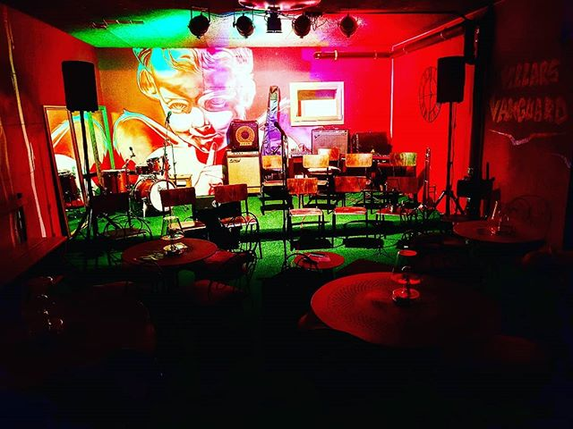 Ce samedi 7 avril dès 20h30. Tout est prêt pour la 2e nuit de #bigband #vvjo #villarsvanguard #villarsvanguardjazzorchestra #jamsession #jazz #jazzclub