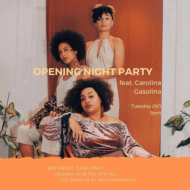 TONIGHT IS THE NIGHT! #BrownSkinGirl opens at @redlineproductions_theoldfitz 💫  If you or your friends missed out on tickets to the show tonight you can still  COME 👏🏿AND👏🏿PARTY👏🏿 The party kicks off after the show at 9pm with @carolina_gasolina on the decks 🍾 $10 entry, CASH ONLY  Upstairs @redlineproductions_theoldfitz  129 Dowling St, Woolloomooloo  Slide into our DMs with any questions! See you tonight! Much love from @bl.ckb.rds
