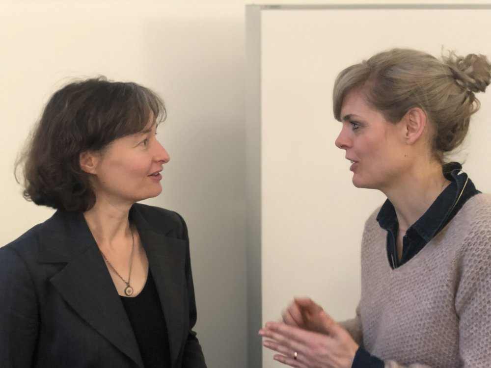 Cornelia Diethelm, im Gespräch mit Isabelle Sailer, D_Break, Januar 2019