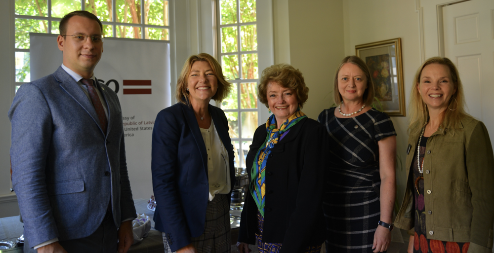 WDS joint program at the Residence of the Embassy of Republic of Latvia