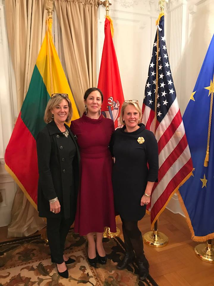 November 19, 2018 : WDS Board members celebrating Lithuania in the 20th Century.