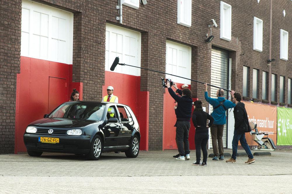 On set for Life is Long. Photo by Harold van de Kamp / Kade104.
