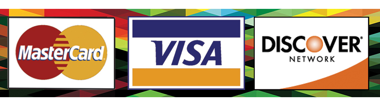 Payment Options:   Cash, Check, Debit or Credit Card  Visa, Master Card, Discover, CareCredit