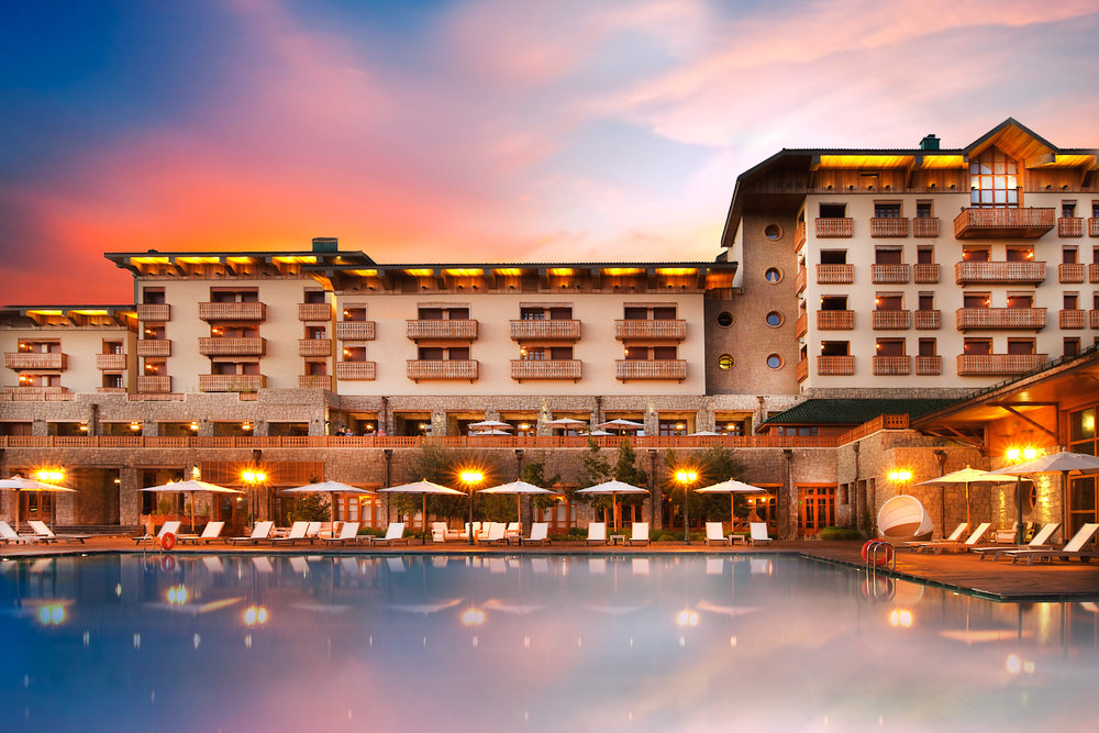 Hotel Michlifen Ifrane 5* Maroc