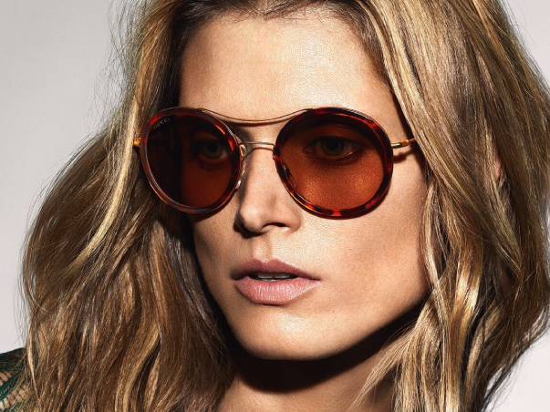 All gucci spectacles complete from £165.00 with single vision lenses. -