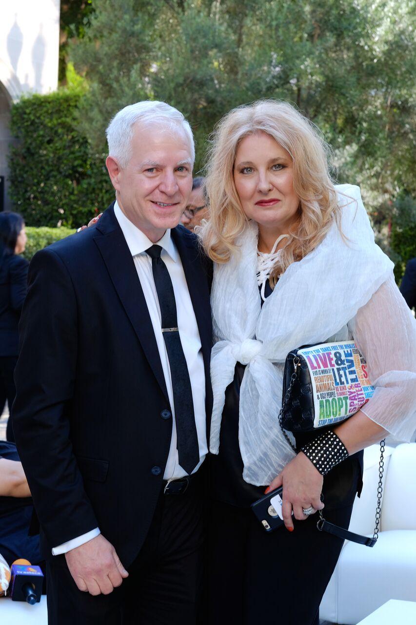 With my dear friend Jim Greenbaum