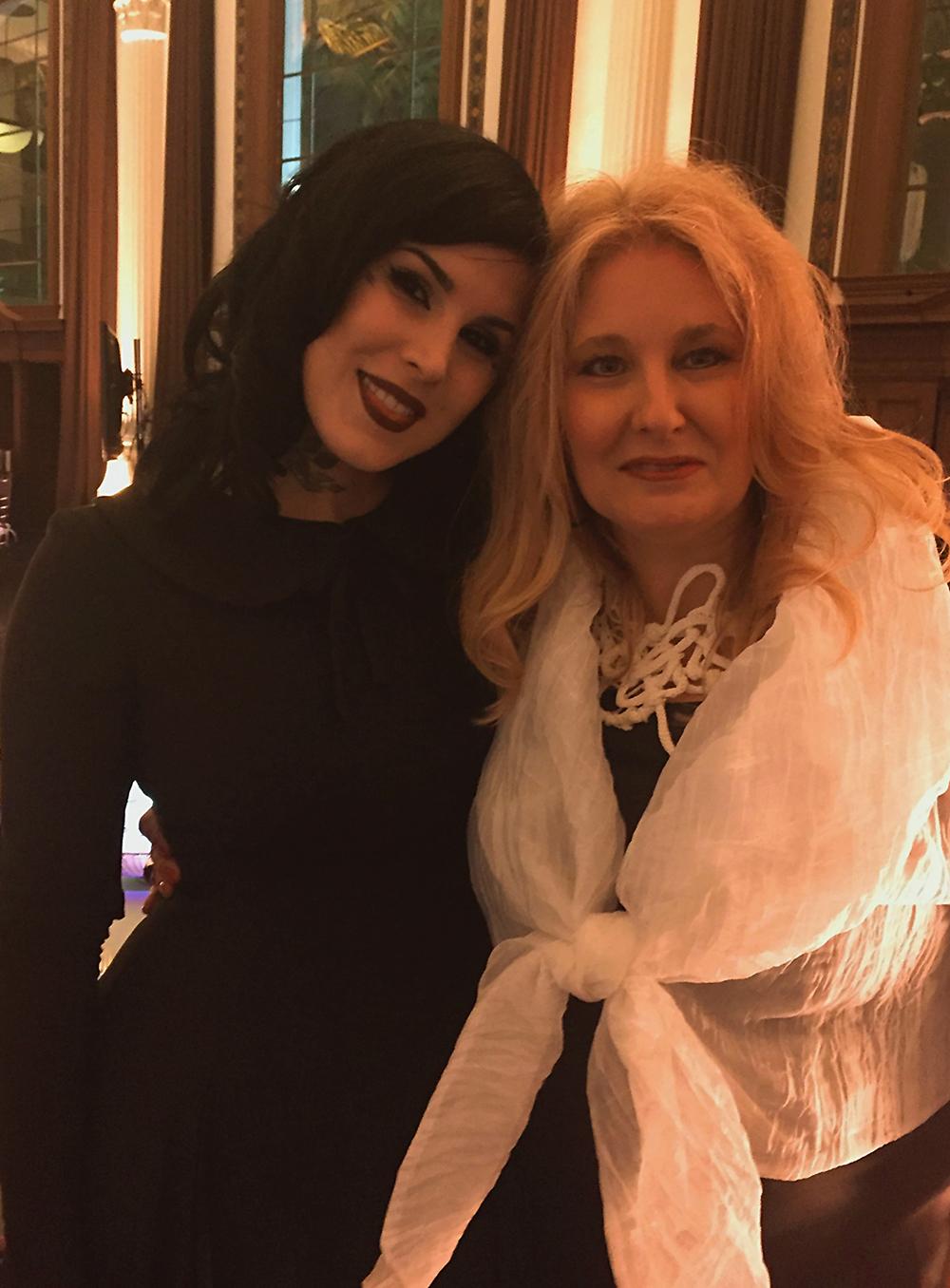 With Kat Von D