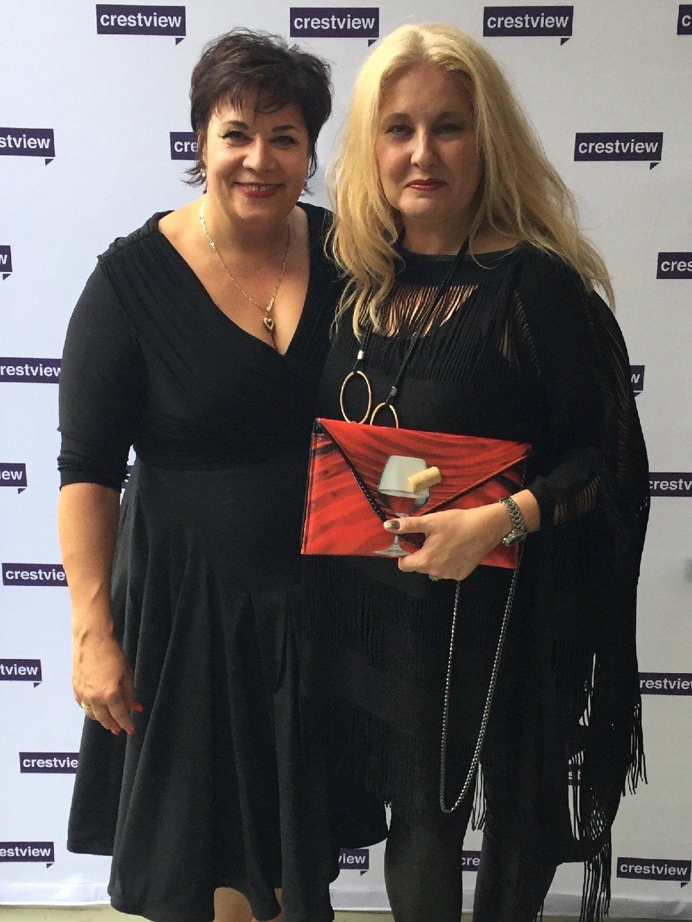 With my dear friend Eleonora