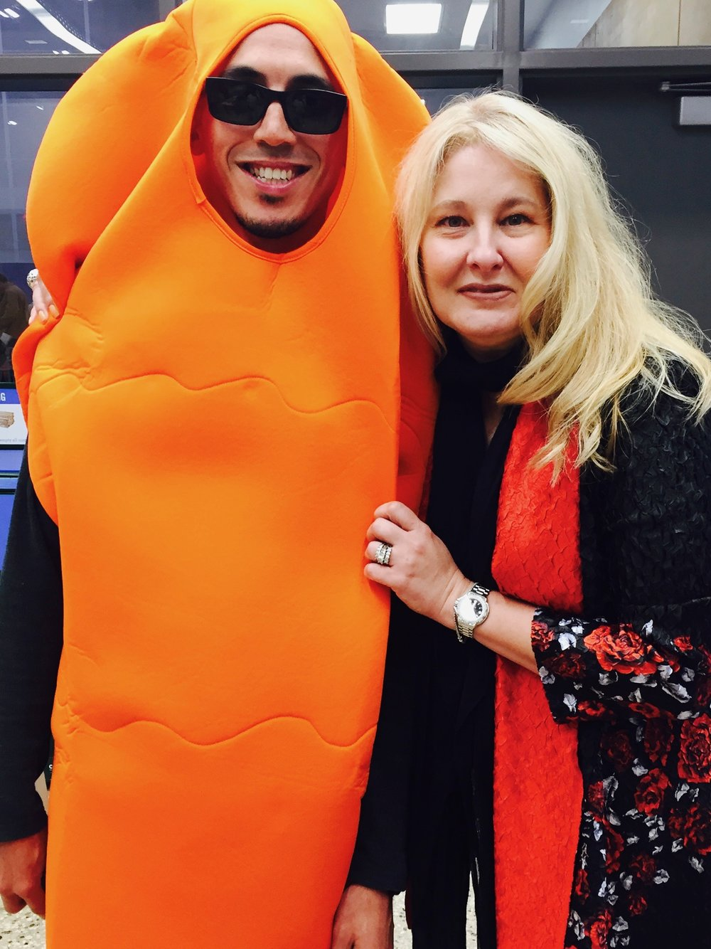 Me and a carrot