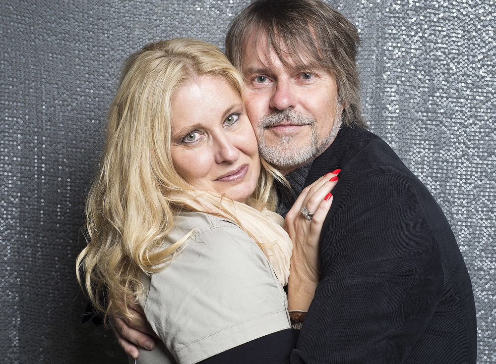 With my husband Nigel