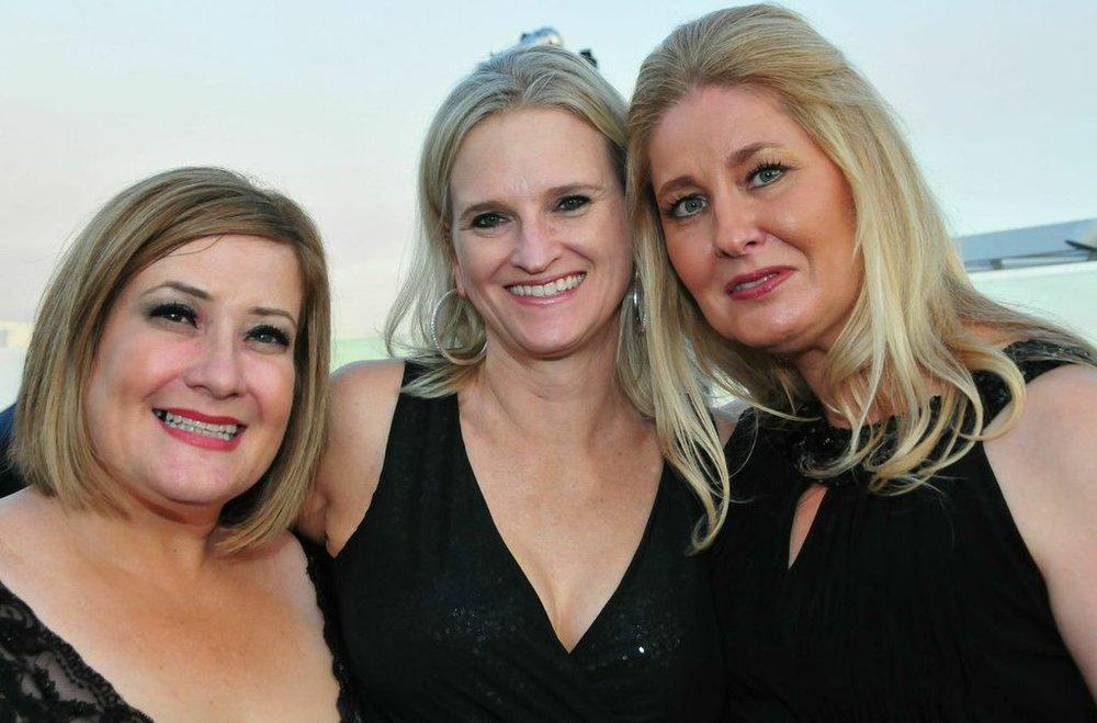 With Michelle Rubin and my dear friend Nikki Bollaert