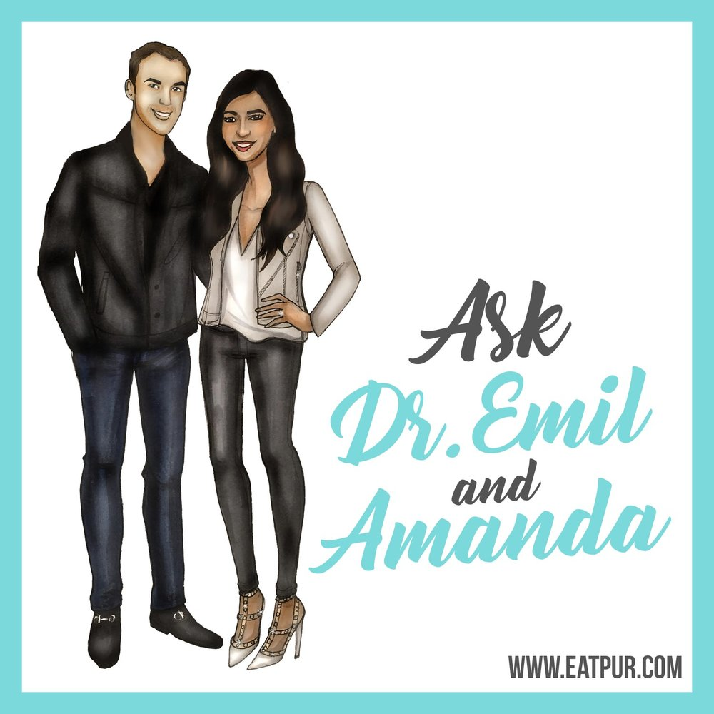 You don't have to wait to listen to her podcast. Click the image now to hear an intro to Amanda's health and wellness podcast!  Subscribe in iTunes.