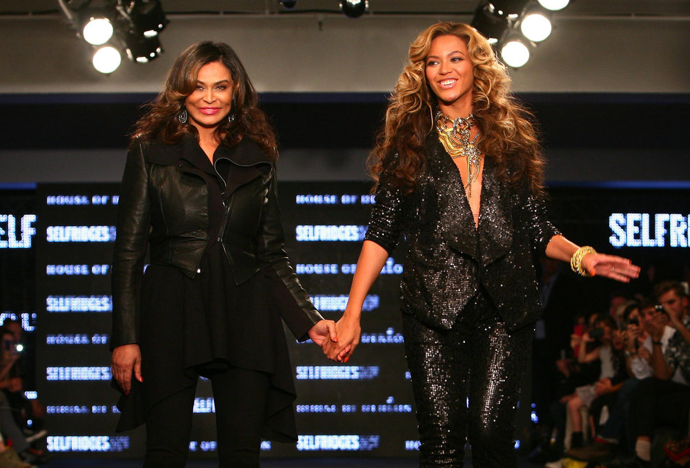 Beyonce Knowles Fashion Show