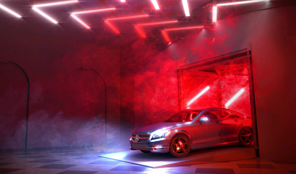 Mercedes Benz Experiential Drive Thru