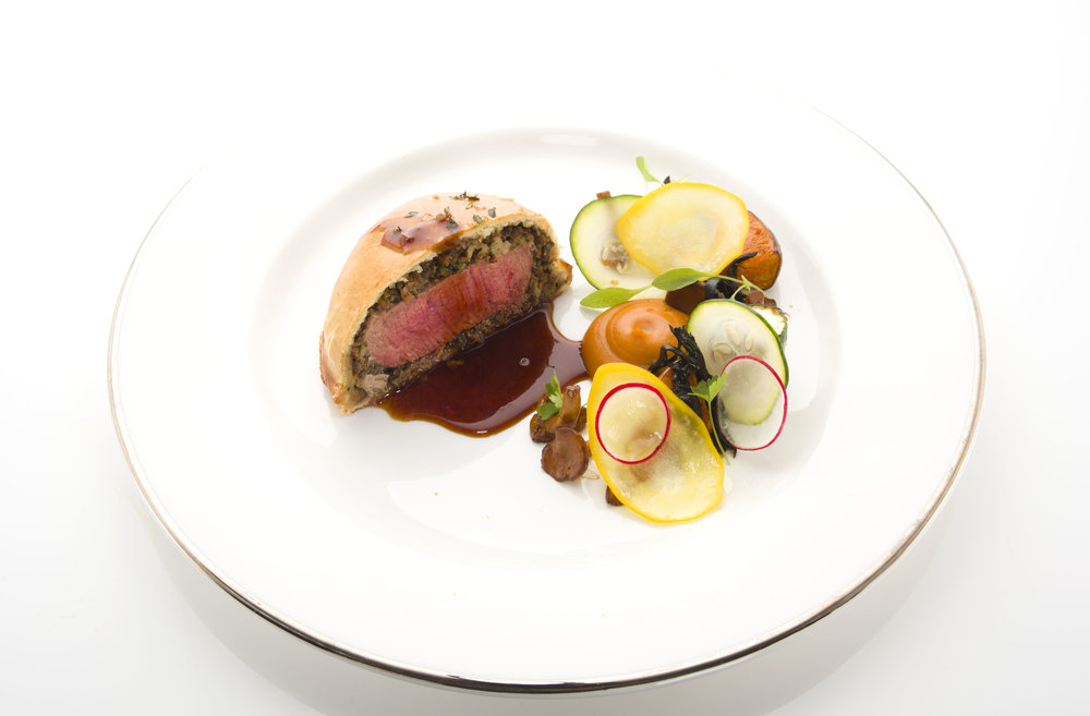 fillet of beefwellingtonwith gourdes and girolles from the forest.jpg