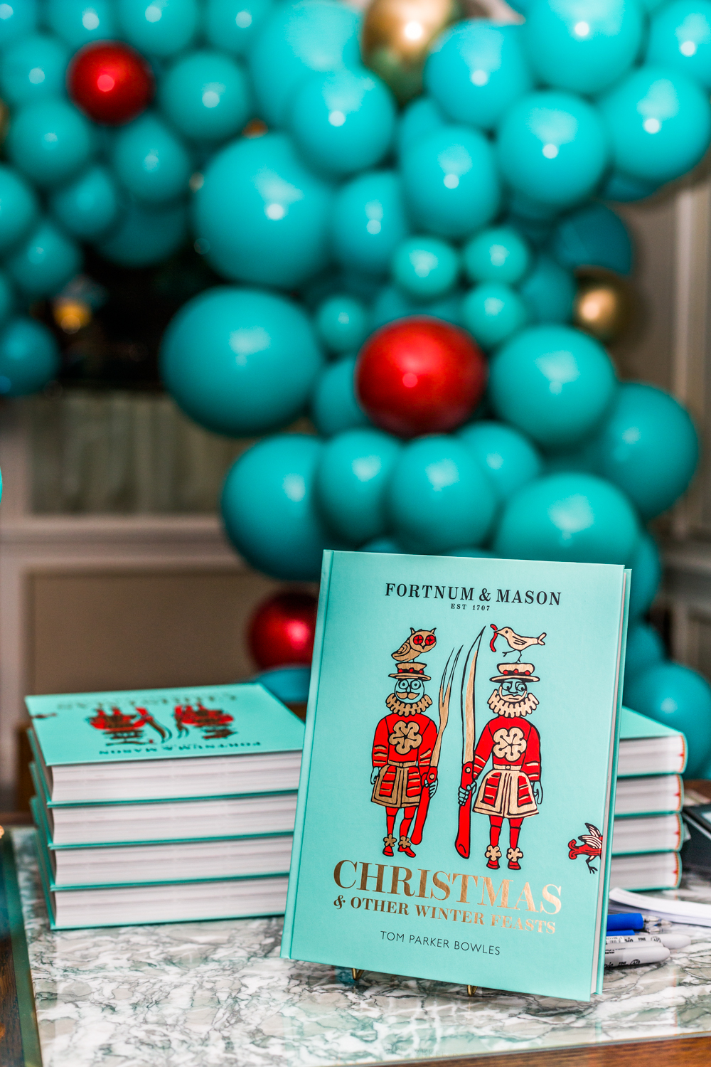 Christmas & Other Winter Feasts Book Launch