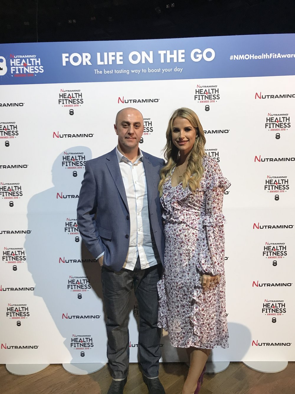 alan dunne with vogue williams