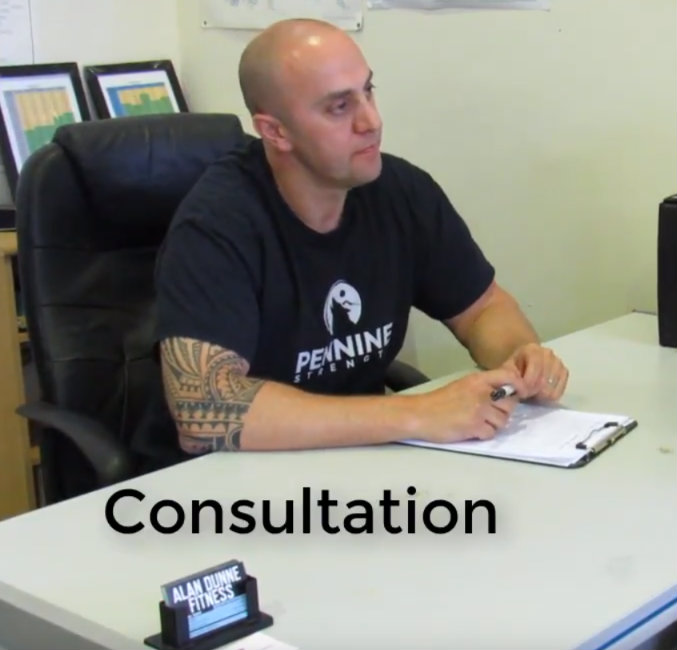 Alan offers transformation packages, personal training and classes in Swords.