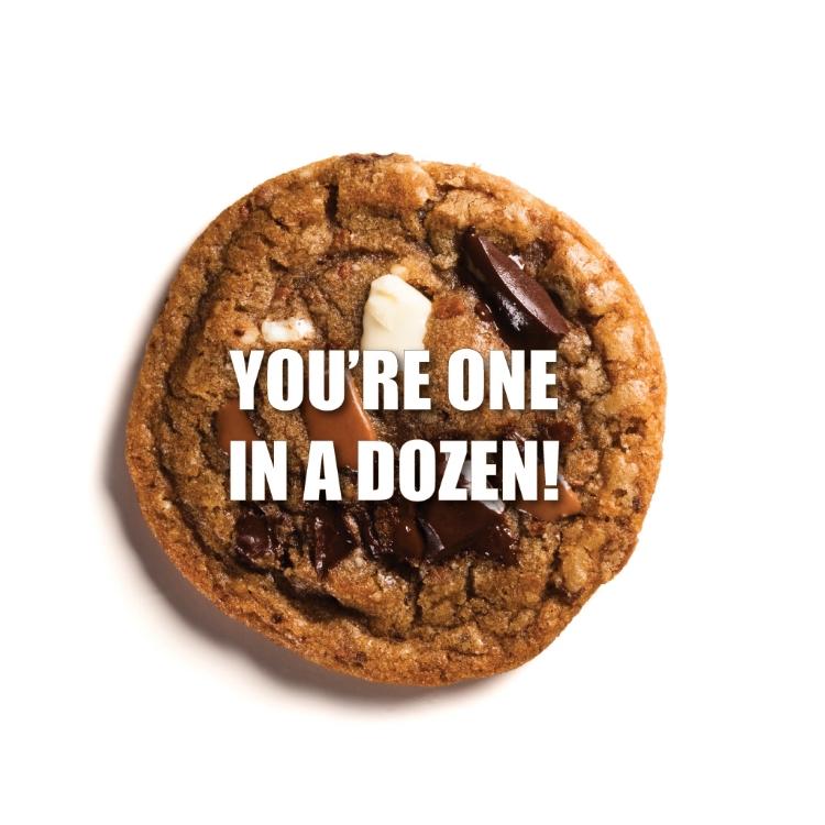 you're one in a dozen