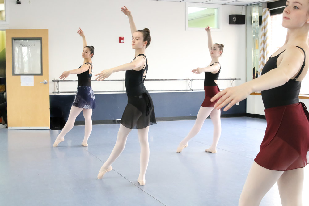 Ballet  Ballet focuses on building flexibility, strength and technique in a structured class using the Cecchetti method as a base. Other classical methods and styles are also introduced, such as Vaganova, Balanchine and RAD to provide each student with a well-rounded background. Proper vocabulary is emphasized in all the classes. A sense of musicality and artistry is developed and along with technique, provide the student with a strong foundation for all forms of dance.  See the class schedule...