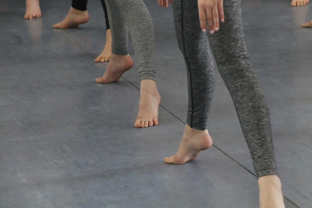 Modern  Modern dance explores movement through fundamental concepts and refined motor control. Dancers use creative and critical thinking skills to create and communicate meaning through dance.  See the class schedule...