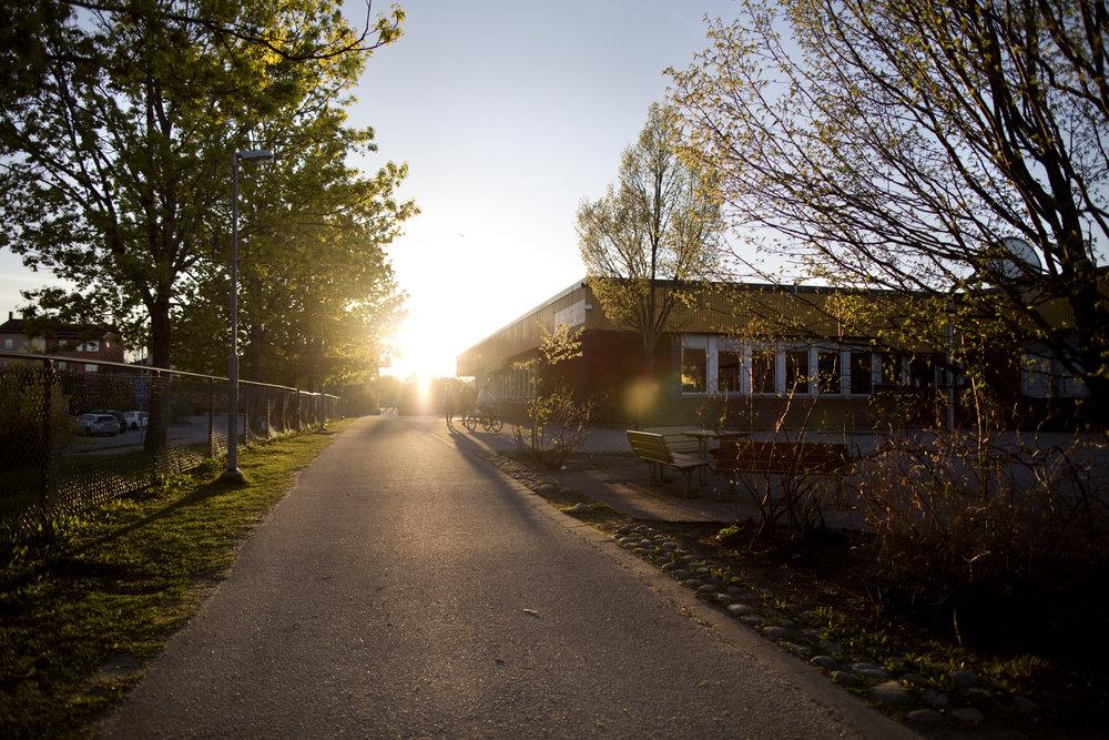 bro fritidsgård ligger i broskolan