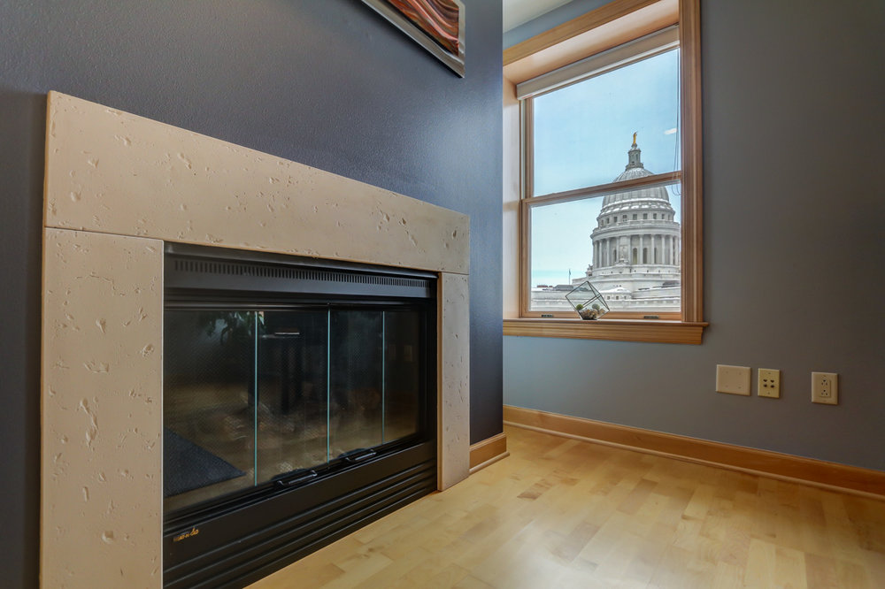 123 W. Washington Ave, Unit 710 Madison, WI 53703 - Capitol fireplace.jpg