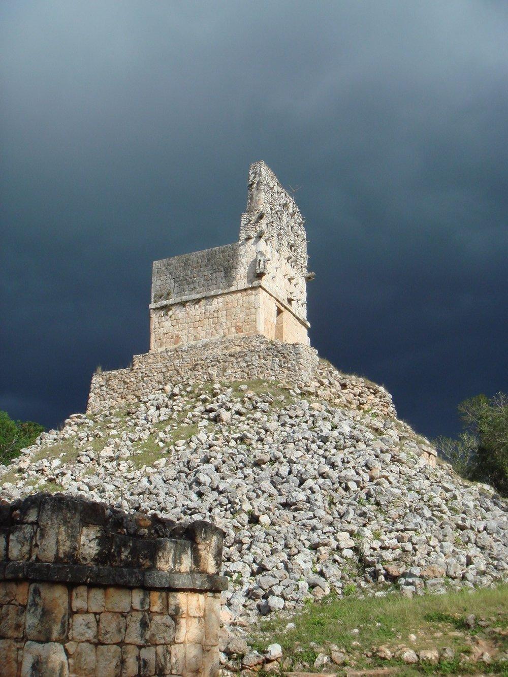 Zona Arqueológica Labná. Yucatán, México.