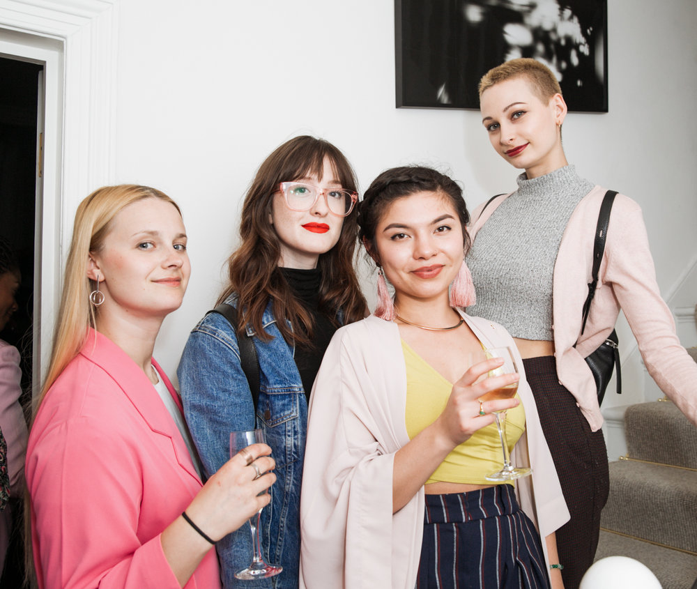 Girls on Film Team: L to R Julia Malahovska, Amelia Conway, Sabrina Lord, Holly Thicknes | Photo Courtesy of Taran Wilkhu