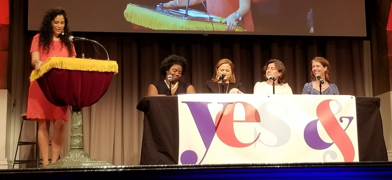 Click Photo to Read | Photo by L. Joy Williams, Melissa Mark-Viverito, Stephanie Miner and Zephyr Teachout discuss women in politics.| Grace Segers