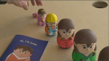 Transgender Toys to Help Youth with Gender Identity  - LG2, A Montreal-based design firm, has spent 2 years creating a Russian doll named Sam that aims to help educators and young students understand their gender identity. Each of the 6 dolls represents the various stages of life a transgender child may go through. The associate professor of the University of Montreal's school of social work noted that because gender identity starts developing around two to three years old, and consolidating around seven to eight years old, children need help understanding these complex emotions. The creative director of LG2, Stuart MacMillan admits that the toy won't be in stores anytime soon, as they don't necessarily have an audience, but they do have a mission that will open a valuable discussion and source of support for transgender youth.